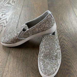 Michael Kors Glitter slip on sneaker